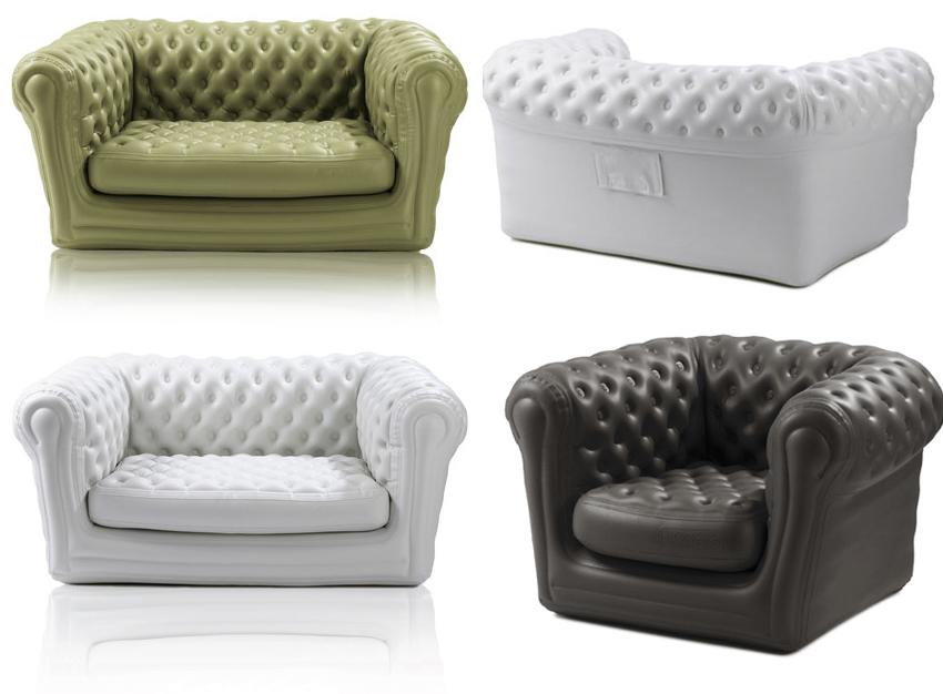 Blofield sofa gonflable le blog de miss l 39 instant d 39 art - Salon de jardin gonflable ...